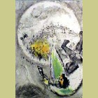 Marc Chagall Deliverance of Jerusalem
