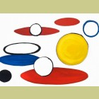 Alexander Calder White Cicles And Elipses