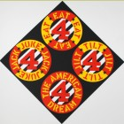 Robert Indiana The Beware-Danger American Dream #4