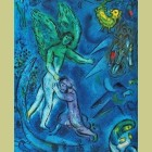 Marc Chagall (after) The Fight of Jacob and the Angel