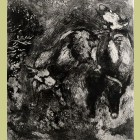 Marc Chagall The Two Bulls and the Frog, from Les Fables de la Fontaine, Volume I