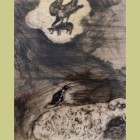 Marc Chagall The Crow Who Wanted to Imitate the Eagle, from Les Fables de la Fontaine, Volume I