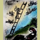 Marc Chagall Jacob and the Angels