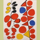 Alexander Calder Vertical Flags