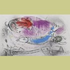 Marc Chagall The Blue Fish