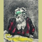 Marc Chagall Abraham Weeping for Sarah