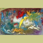 Marc Chagall Chloe Is Carried Off By the Methymneans, from Daphnis and Chloe