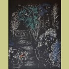 Marc Chagall Green Tree with Lovers