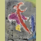 Marc Chagall Vision of Paris I