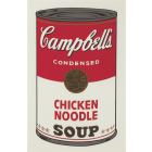 Andy Warhol Campbell's Soup I:Chicken Noodle