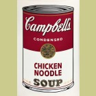 Andy Warhol Campbell's Soup I: Chicken Noodle