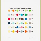 Damien Hirst Controlled Substances Key Spot Print
