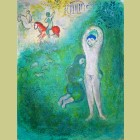 Marc Chagall Daphnis and Gnathon, from Daphnis and Chloe