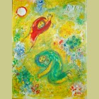 Marc Chagall The Trampled Flowers, from Daphnis and Chloe