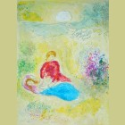 Marc Chagall The Little Swallow, from Daphnis and Chloe