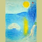 Marc Chagall The Summer Season, from Daphnis and Chloe