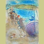 Marc Chagall The Young Methymneans, from Daphnis and Chloe