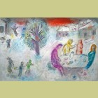 Marc Chagall The Meal at Dryas's House, from Daphnis and Chloe