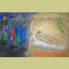 Marc Chagall Hymen, from Daphnis and Chloe