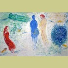 Marc Chagall Chloe's Judgement, from Daphnis and Chloe