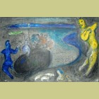 Marc Chagall Captain Bryaxis's Dream, from Daphnis and Chloe