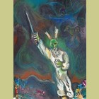 Marc Chagall Moses Calls Darkness Down on Egypt, from The Story of Exodus