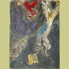 Marc Chagall The Golden Earrings, from The Story of Exodus