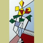 Roy Lichtenstein Flowers