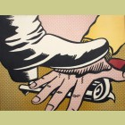 Roy Lichtenstein Foot and Hand
