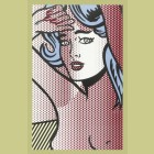 Roy Lichtenstein Nude With Blue Hair