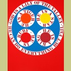 Robert Indiana God is Lily of the Valley