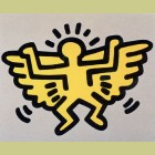 Keith Haring Icons Plate 4