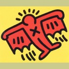 Keith Haring Icons Plate 3
