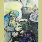 Marc Chagall Jacob Blessed by Isaac