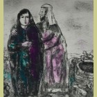 Marc Chagall Meeting of Jacob and Rachel
