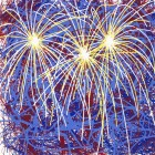 James Rosenquist Fireworks for President Clinton