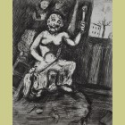 Marc Chagall The Statue of Jupiter, from Les Fables de la Fontaine, Volume II