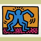 Keith Haring Pop Shop II Plate 1