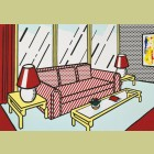 Roy Lichtenstein Red Lamps