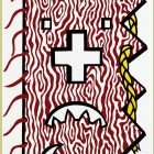 Roy Lichtenstein American Indian Theme IV