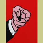Roy Lichtenstein Finger Pointing