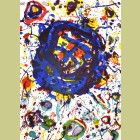 Sam Francis Untitled, from Michel Waldberg: Poemes dans le ciel