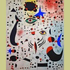 Joan Miro (after) Chiffres et constellations amoureux d'une femme (Ciphers and Constellations in Love with a Woman), Plate XIX