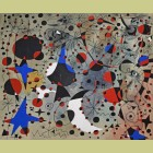 Joan Miro (after) Le chant du rossignol a minuit et la pluie matinale (The Nightingale's Song at Midnight and the Morning Rain), Plate XI