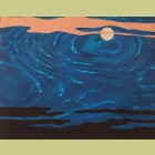 Roy Lichtenstein Moonscape