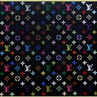 Takashi Murakami Monogram Black Large
