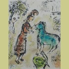 Marc Chagall Athena and the Horse