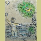 Marc Chagall The Waves Swallow Up Ulysses