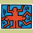 Keith Haring Pop Shop VI Plate 4