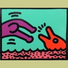Keith Haring Pop Shop V Plate 1